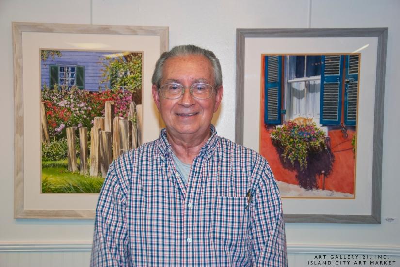 Island City Art Market: John Bowen,Artist