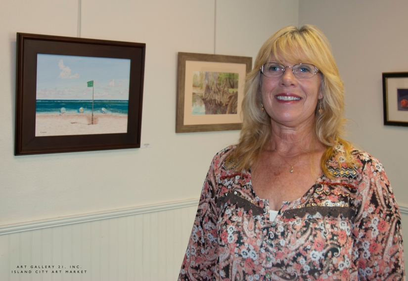 Island City Art Market: Patti Maceri, Artist