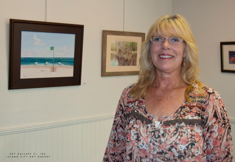Island City Art Market: Patti Maceri,Artist