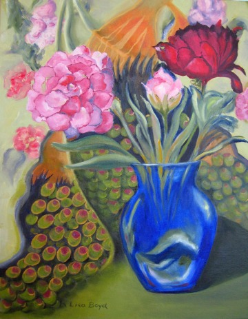 Whimsical Flowers Lisa Boyd