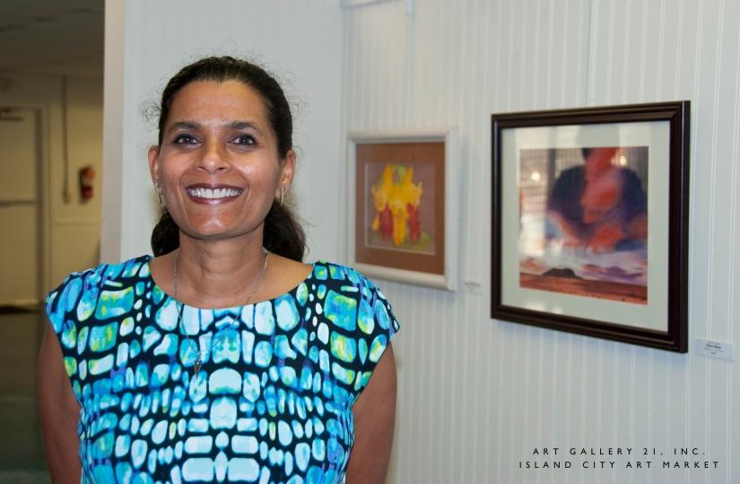 Island City Art Market: Yvette Vas,Artist